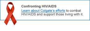 Keeping Colgate People and Their Families Healthy
