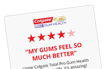 Submit a review of colgate total toothpaste and oral care products for your chance to win a colgate proclinical A1500 electric toothbrush